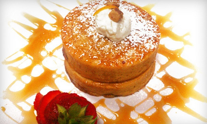 SuperChef's Breakfast - Multiple Locations: Breakfast and Brunch Fare for Two or Four at SuperChef's Breakfast (Up to 52% Off). Two Options Available.