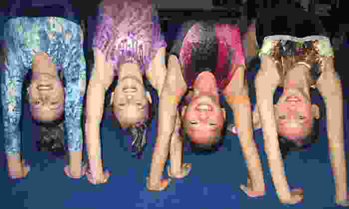Tricks Gymnastics, Dance, and Swim - Multiple Locations: One Month of Dance or Gymnastics Classes at Tricks Gymnastics, Dance, and Swim (Up to 61% Off). Four Options Available.