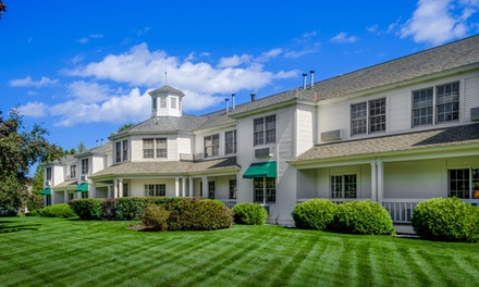 groupon daily deal - Stay at The Ashbrooke in Egg Harbor, WI. Dates into July.