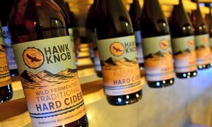 Hawk Knob: Tour, Tasting, Souvenir Glasses, and Stickers for Four or Six at Hawk Knob (Up to 50% Off)