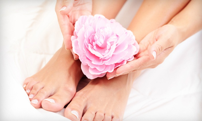 LaPosh Salon - Clearwater: $30 for a Pedicure and Shellac Manicure at LaPosh Salon in Clearwater ($60 Value)
