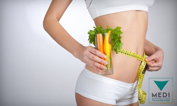 Medi-Weightloss Clinics - Multiple Locations: $189 for One-Month Starter Kit at Medi-Weightloss Clinics ($378 Value)