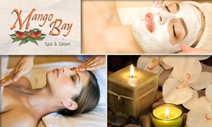 Mango Bay Spa - Washington: $45 for an Hour-Long Massage and Half-Hour Facial at Mango Bay Spa and Salon ($130 Value)