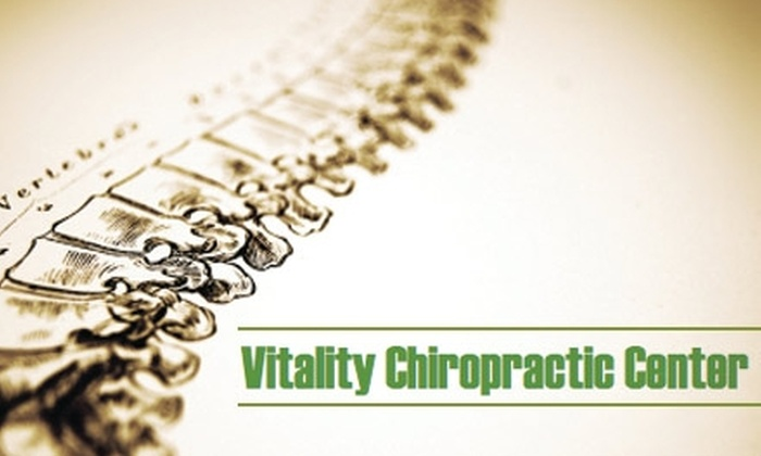 Vitality Chiropractic Center - Belmont: $39 for a Chiropractic Consultation, Exam, One 15-Minute Adjustment, and a 30-Minute Massage from Vitality Chiropractic Center