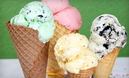 5 Single Scoops of Ice Cream (a $14 value) - Polar Bear Ice Cream in Santa Cruz