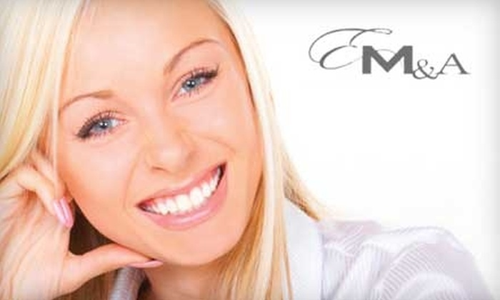 EMA Dental - Multiple Locations: Teeth Whitening at EMA Dental. Choose from Two Options.
