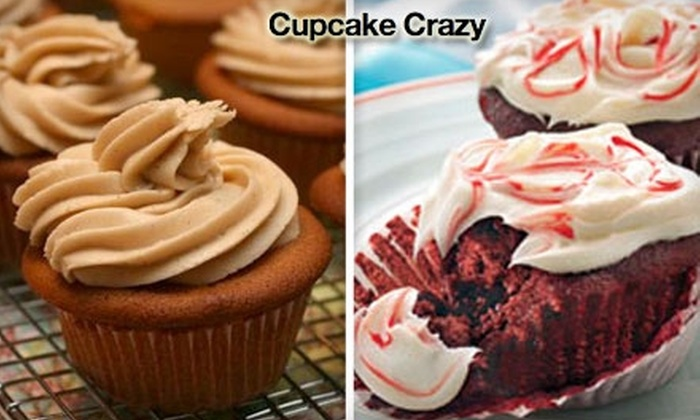 Cupcake Crazy - Little Rock: $15 for a Dozen Assorted Specialty Cupcakes Plus Delivery from Cupcake Crazy ($33.60 Value)