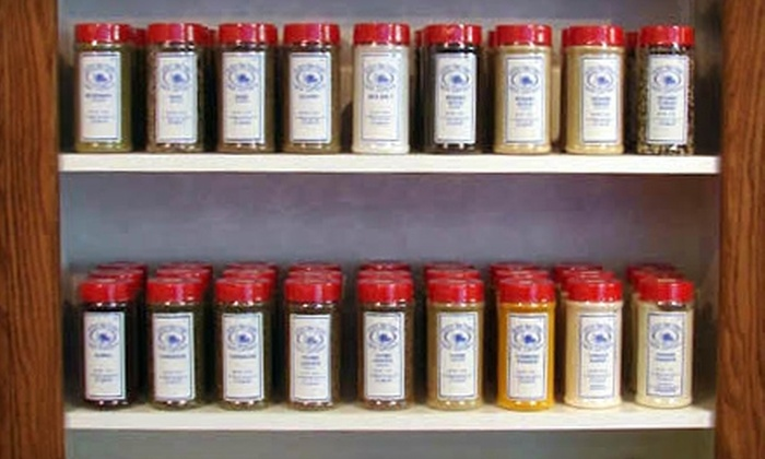 Southern New England Spice Company - Hadley: $10 for $20 Worth of Spice and Seasoning Shakers at Southern New England Spice Company