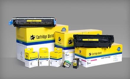 $20 Groupon to Cartridge World - Cartridge World Mobile in Mobile
