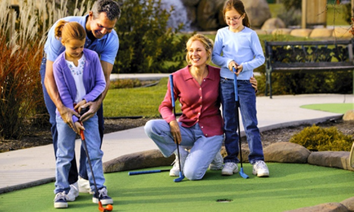 Lilli Putt Family Entertainment Center - Coon Rapids: $22 for Go-Kart and Mini-Golf Outing for Four at Lilli Putt Family Entertainment Center in Coon Rapids (Up to $44 Value)