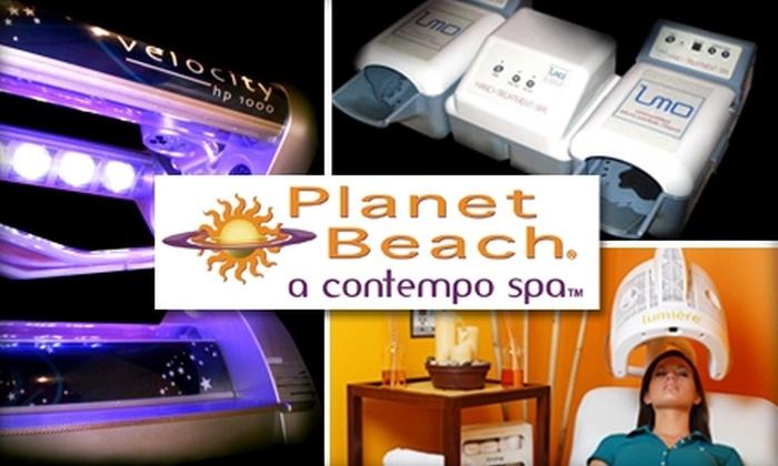 Planet Beach Contempo Spa KC - Olathe Pointe: $49 for a Day at the Spa from Planet Beach Contempo Spa