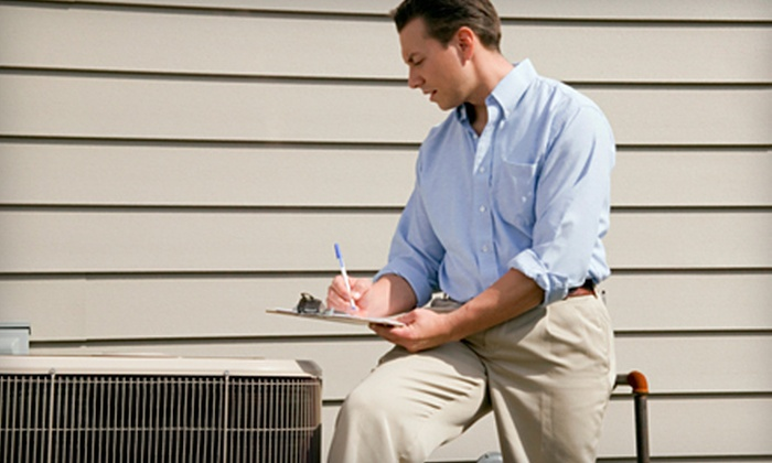 Service Professionals - Newark Central Business District: $49 for an Air-Conditioner Tune-Up from Service Professionals ($179 Value)