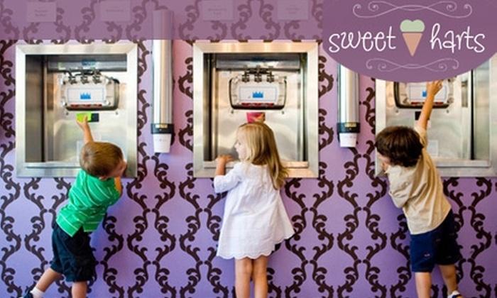 SweetHarts - Sherman Oaks: $5 for $10 Worth of Frozen Yogurt, Ice Cream, Gelato and More at SweetHarts