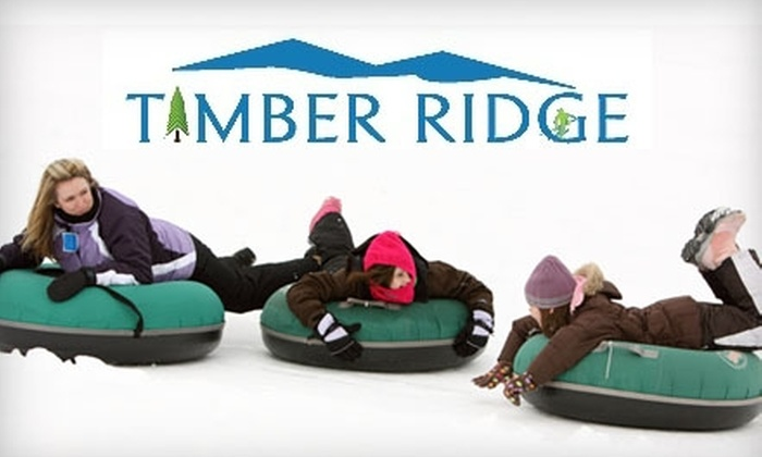 Timber Ridge - Pine Grove: $15 for Snow Tubing for Two People at Timber Ridge in Gobles ($30 Value)