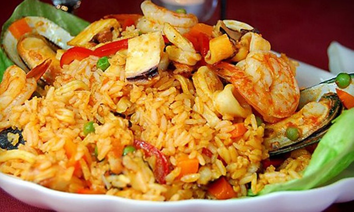 Villa Peru - NTNA - Indian Bend: $20 for a Peruvian Dinner with Appetizer and Entrees for Two at Villa Peru in Tempe (Up to $41.50 Value)