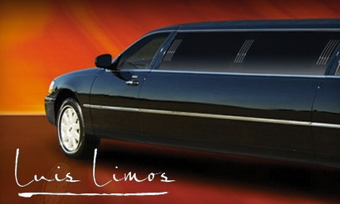 Santana Limo Services, LLC - Palm Beach: $40 for $80 Toward Any Limousine Service from Santana Limo Services, LLC