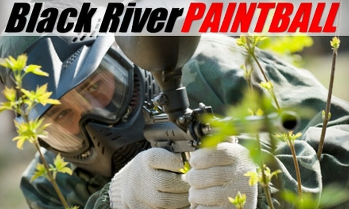 Black River Paintball - E. E. Smith: $19 for One Day of Paintball, Including Gear and Paintballs, at Black River Paintball ($45 Value)