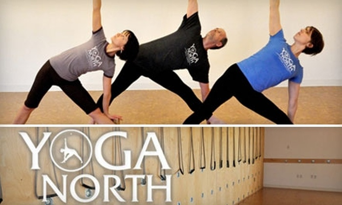 Yoga North - West Broadway: $60 for a 10-Class Level I Package at Yoga North ($130 Value)