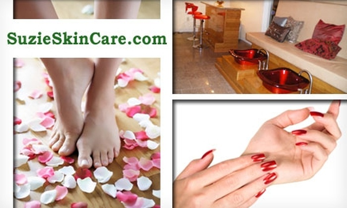 Suzie's Skin and Beauty Centre - Willow Glen: $20 for a Mani-Pedi at Suzie's Skin and Beauty Centre
