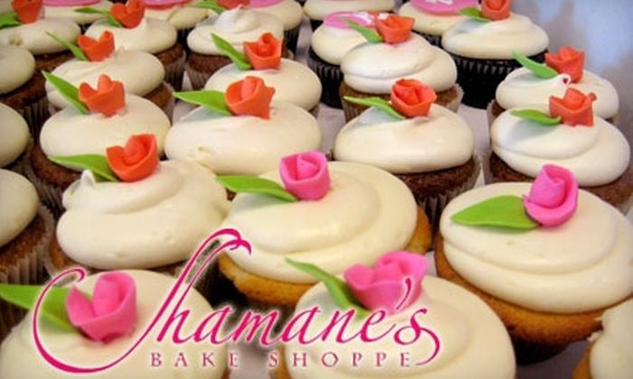 Shamane's Bake Shoppe - Transit Village: $10 for a Dozen Homemade Cookies ($23.80 Value) or $15 for a Dozen Cupcakes ($35.69 Value) at Shamane's Bake Shoppe
