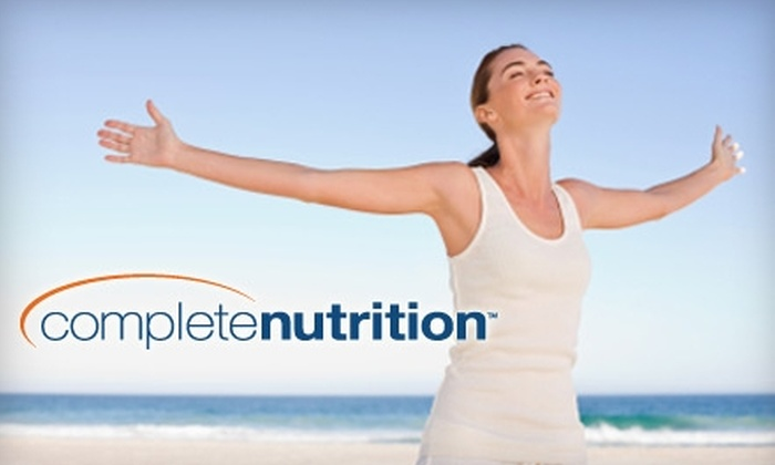 Complete Nutrition - Madison: $15 for $30 Worth of Complete Nutrition Brand Vitamins, Supplements, and More