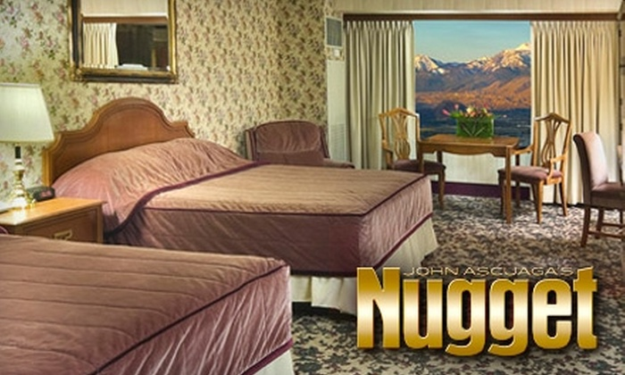 The Nugget Hotel - Stanford Industrial Park: $89 for a One-Night Stay and Massage at the Nugget in Sparks (Up to $194 Value)