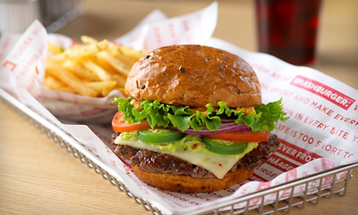Smashburger - Multiple Locations: $6 for $12 Worth of Burgers and American Fare at Smashburger