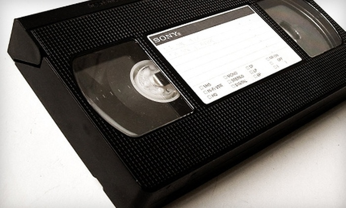 Home Video Studio - Hoosier / Cullen: $9 for One 120-Minute VHS-Tape or Camcorder-Tape Conversion to DVD at Home Video Studio ($29.95 Value)