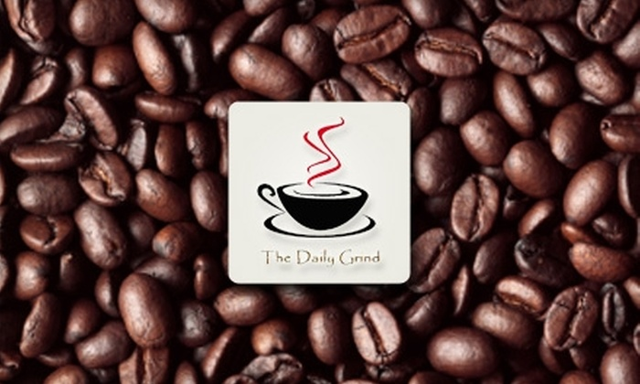 Daily Grind: $25 for $50 Worth of Coffee Beans, Tea, and Accessories at Daily Grind