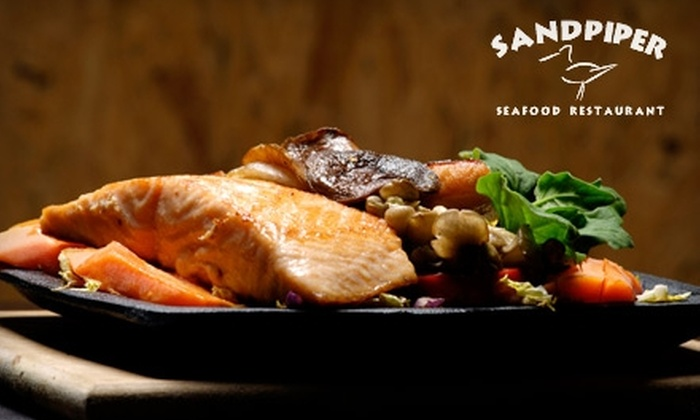 Sandpiper Restaurant & Cafe - Russian River-Coastal: $12 for $25 Worth of Seafood and Drinks at Sandpiper
