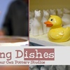 60% Off at Doing Dishes Pottery Studios