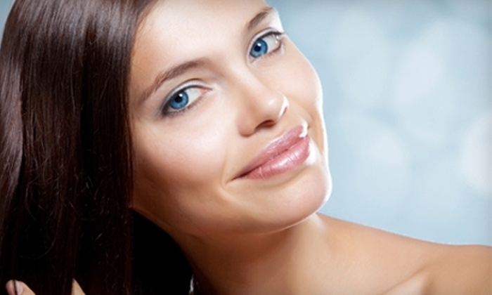 Visage Salon & Spa - Oradell: $40 for 60-Minute Elemental Facial or $50 for Haircut and Color at Visage Salon & Spa in Oradell