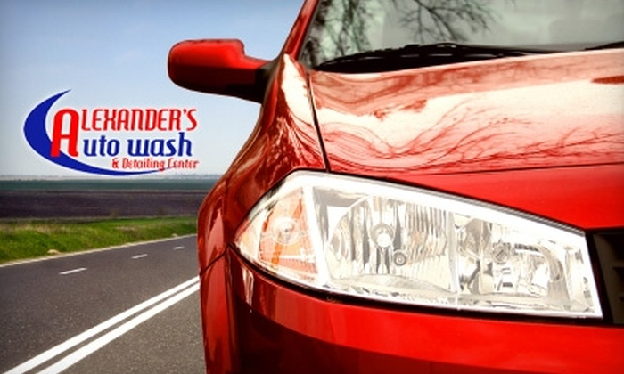 Alexander's Autowash - Lake Orion: $40 for Four Superior Full Service Car Washes at Alexander's Auto Wash in Lake Orion ($80 Value)