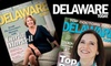 """Delaware Today: $7 for a One-Year Subscription to """"Delaware Today"""" ($14.97 Value)"""