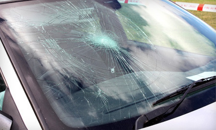 Chapman Auto Glass - Hutchinson: On-Site Glass-Chip Repair or $79 for $180 Toward a Windshield Replacement from Chapman Auto Glass