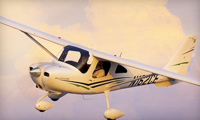 Light Sport Aviation - Riverside Airport: $65 for a 45-Minute Discovery Flight Experience Package at Light Sport Aviation in Riverside ($130 Value)