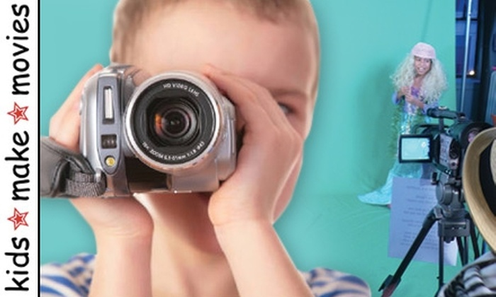 kids-make-movies - Midtown South Central: $279 for a Four-Week Moviemaking Class for Youths at kids-make-movies ($560 Value)