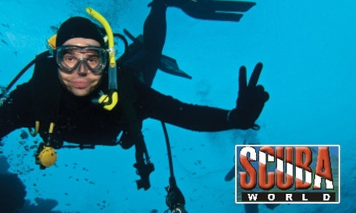 Scuba World Sacramento - Multiple Locations: $25 for an Introductory Scuba Lesson at Scuba World Sacramento ($50 Value)