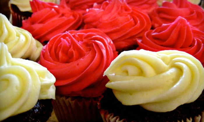 Adonna's Bakery & Cafe - Multiple Locations: $15 for 12 Dipped Cookies, Cake Balls, Cupcakes, or Chocolate-Covered Strawberries at Adonna's Bakery & Cafe ($30 Value)