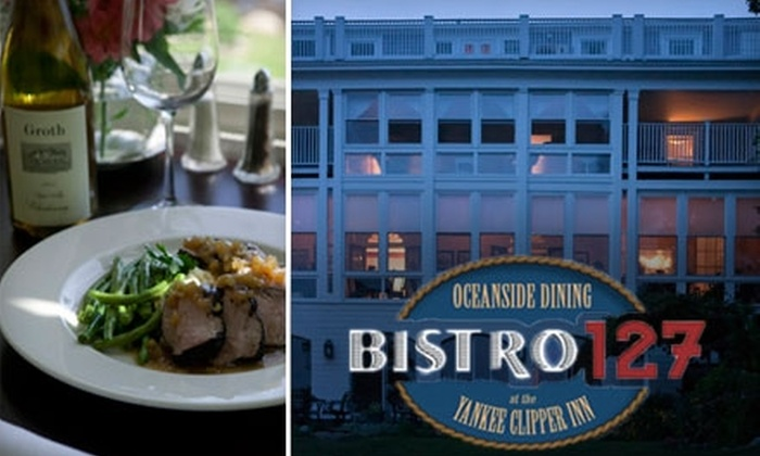 Bistro 127 - Rockport: $25 for $50 Worth of Elegant Fare at Bistro 127