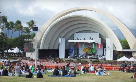 Ticketmaster: KCCN FM 100 Birthday Bash at Waikiki Shell on Fri., July 29 at 5:30PM: General-Admission Lawn Seating - KCCN FM 100 Birthday Bash at Waikiki Shell in Honolulu