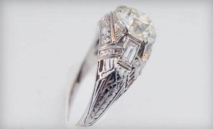 $100 Groupon to Victoriana Antique & Fine Jewelry - Victoriana Antique & Fine Jewelry in Denver