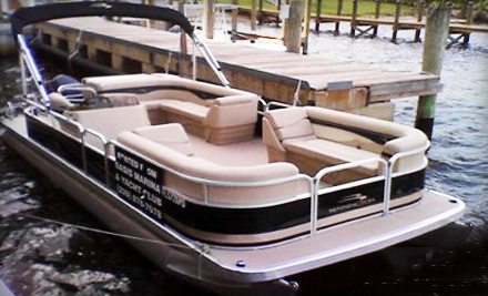 Full-Day Pontoon Rental for Eight (a $295 value) - Oasis Yacht Club and Boat Rentals in Fort Myers