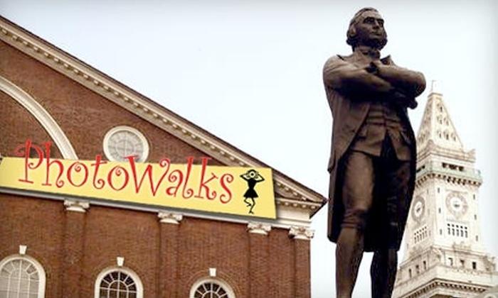 Boston Photo Walks - Natick: $15 for a Photo Walking Tour with PhotoWalks of Boston ($30 Value)