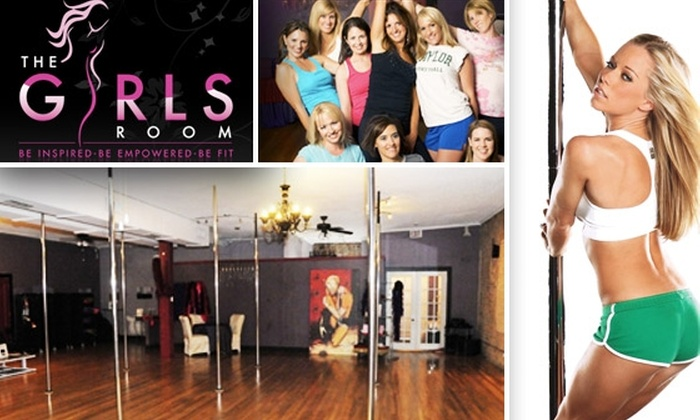 The Girls Room - Dallas: Three Cardio Strength Training Pole-Dancing Classes at The Girls Room