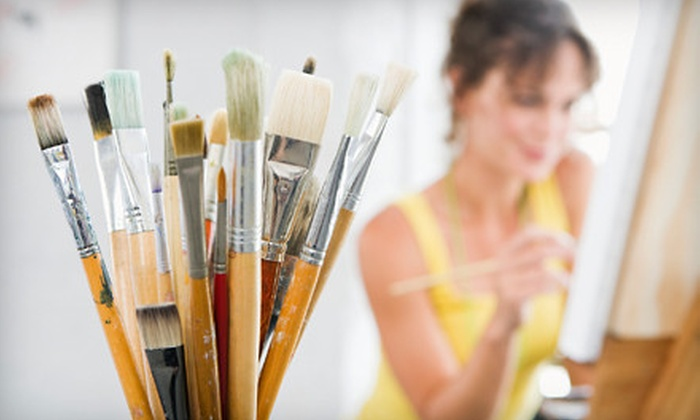 Youthful Expressions Studio - Maryville: $35 for a Two-Hour BYOB Painting Class for Two at Youthful Expressions Studio in Maryville ($70 Value)