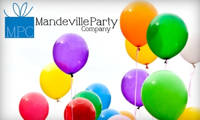 Mandeville Party Company - Mandeville: $10 for $20 Worth of Merchandise or $3 for a Valentine's Day Balloon Bouquet ($7 Value) at Mandeville Party Company