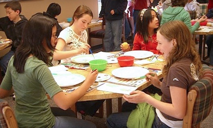 Alpha Fired Arts - Sacramento: $10 for $20 Worth of Pottery Painting at Alpha Fired Arts