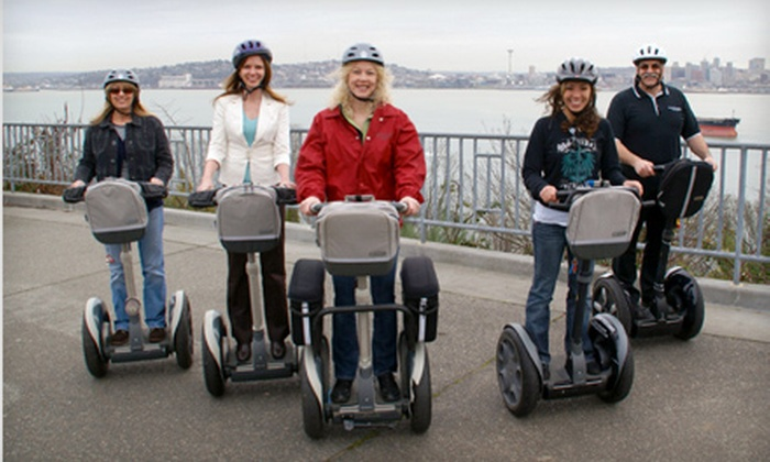 West Coast Entertainment - North Admiral: West Seattle Segway Tour for One or Two from West Coast Entertainment