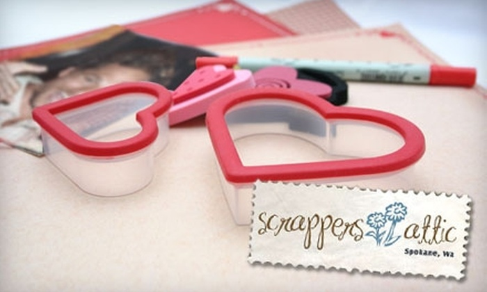 Scrappers Attic - Spokane Valley: $15 for Two Scrapbooking Kits at Scrappers Attic in Spokane Valley ($30 Value)